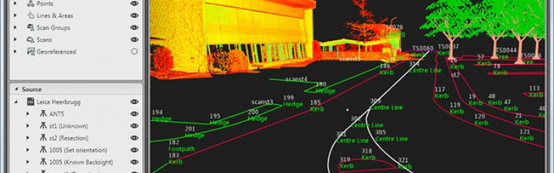 Experience the world of 3D – using Leica Infinity to manage and post process data from Leica FlexLine total stations